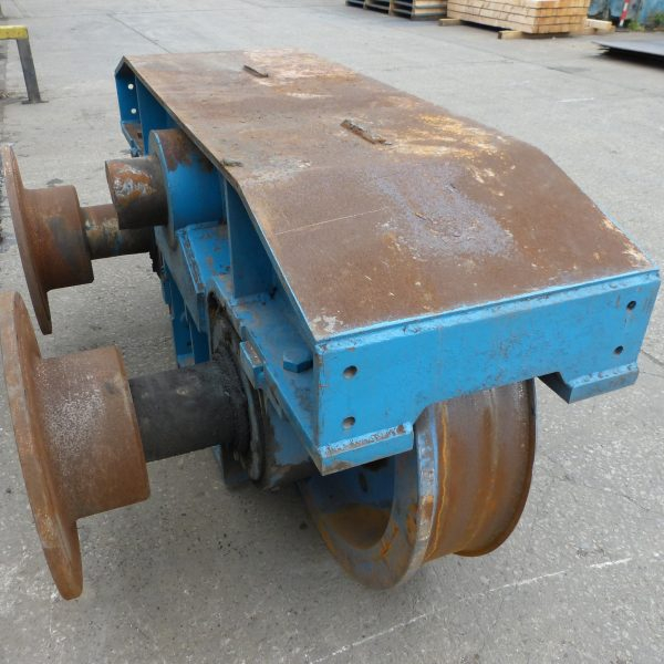 Crane Wheel Refurbishment 1