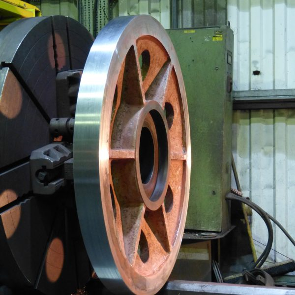 Crane Wheel Refurbishment 2