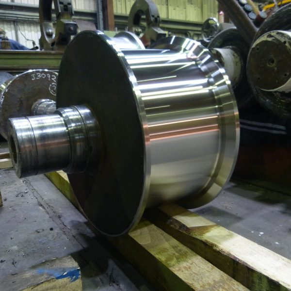 Crane Wheel Refurbishment 4