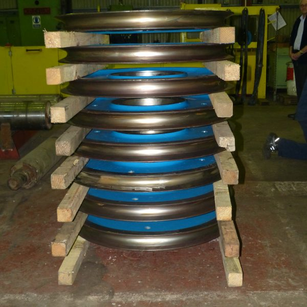 Crane Wheel Refurbishment 5