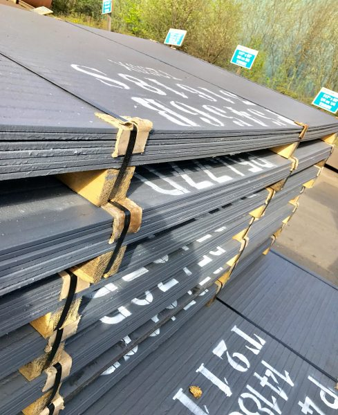 Chromium Carbide Hardfaced Plate