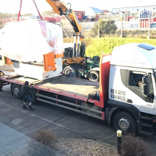 Delivery of 250T Brake Press