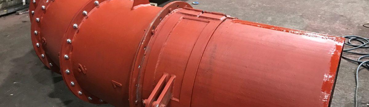 Pipe System chrome carbide plate