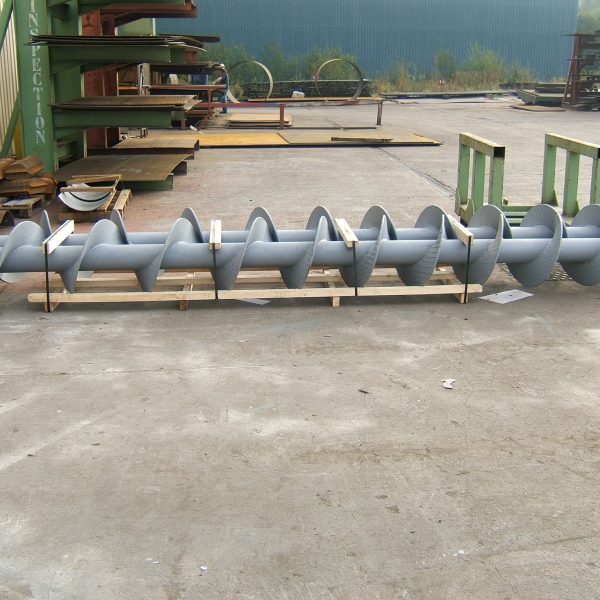 Screw Conveyor Refurbishment 3