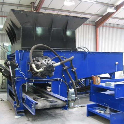 Shredder Refurbishment 12